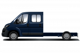 Mandataire PEUGEOT BOXER CHASSIS DOUBLE CABINE